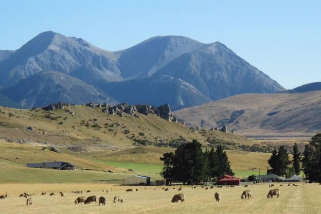 New Zealand's beautiful South Island