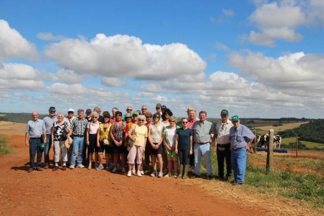 Red dirt and double cropping Brazil - We can take you there!