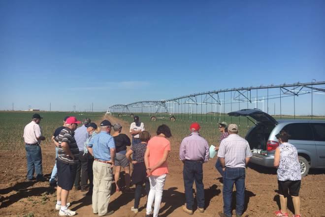 Irrigation Farm Tour USA