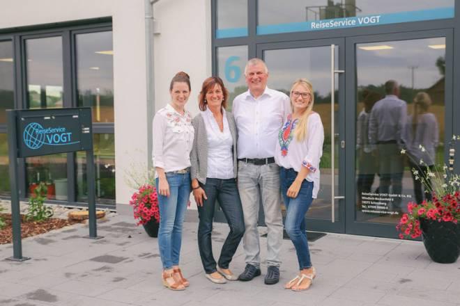 Sarah, Tina, Dieter & Laura Vogt